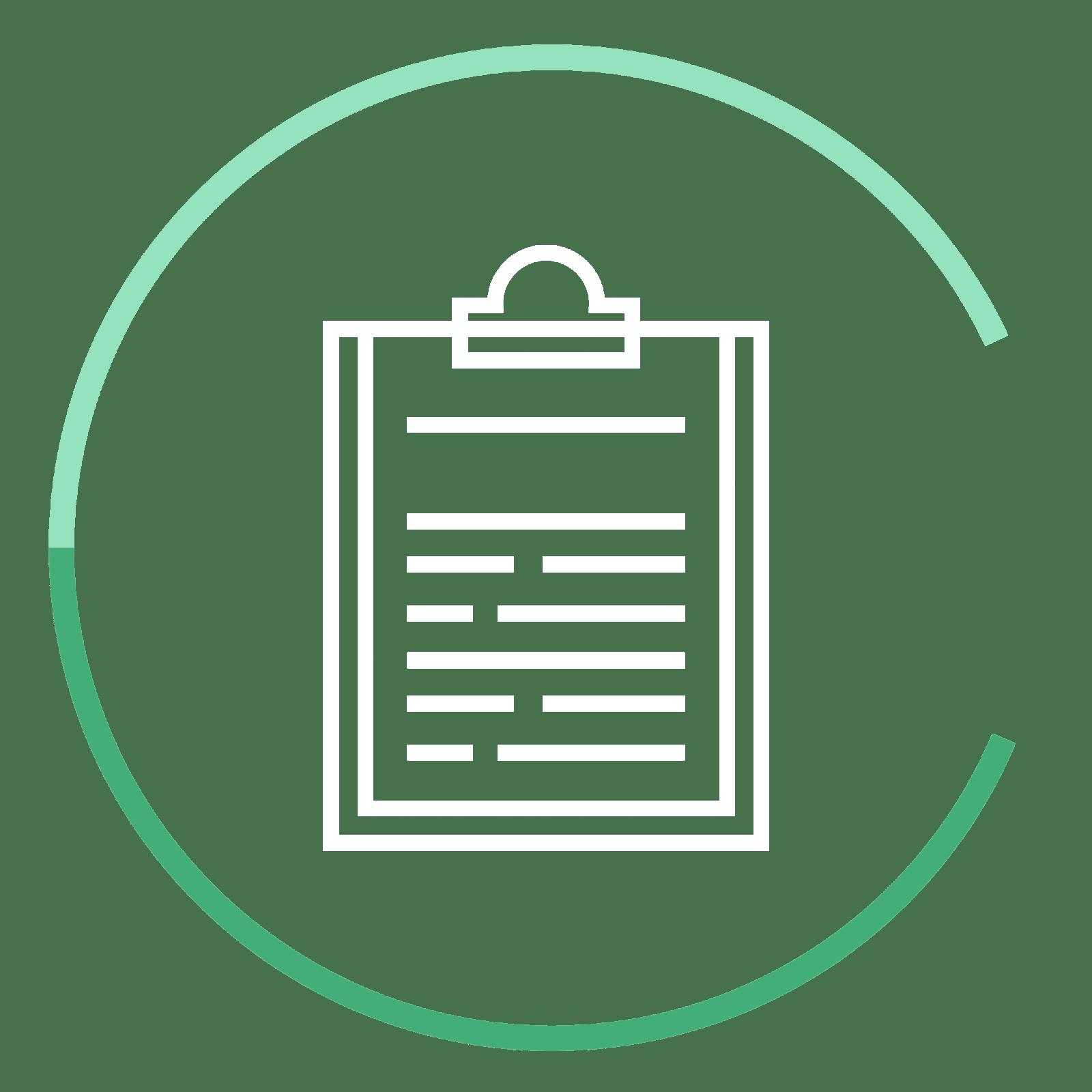 CC icon clipboard - Chervenell Construction