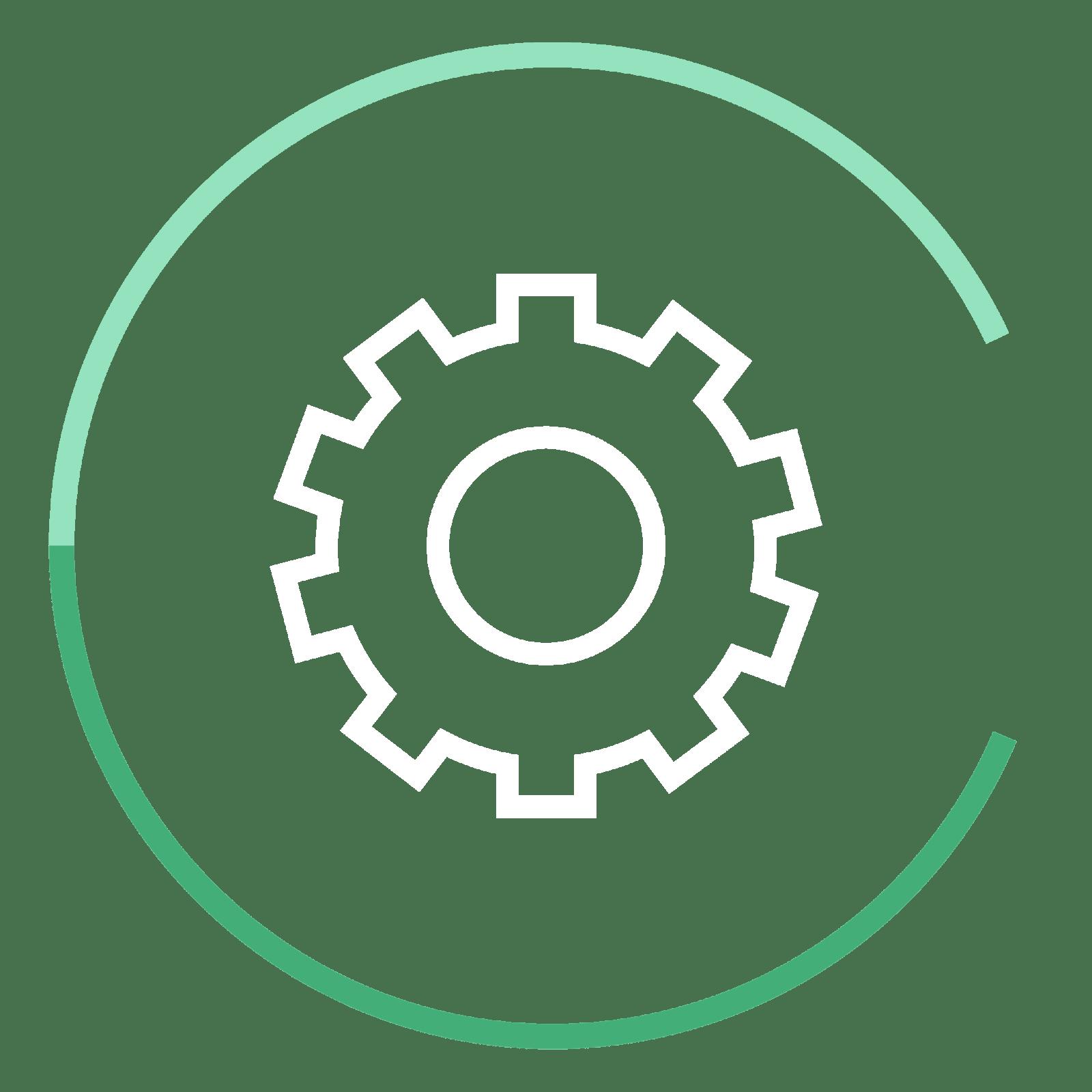 CC icon gear - Chervenell Construction