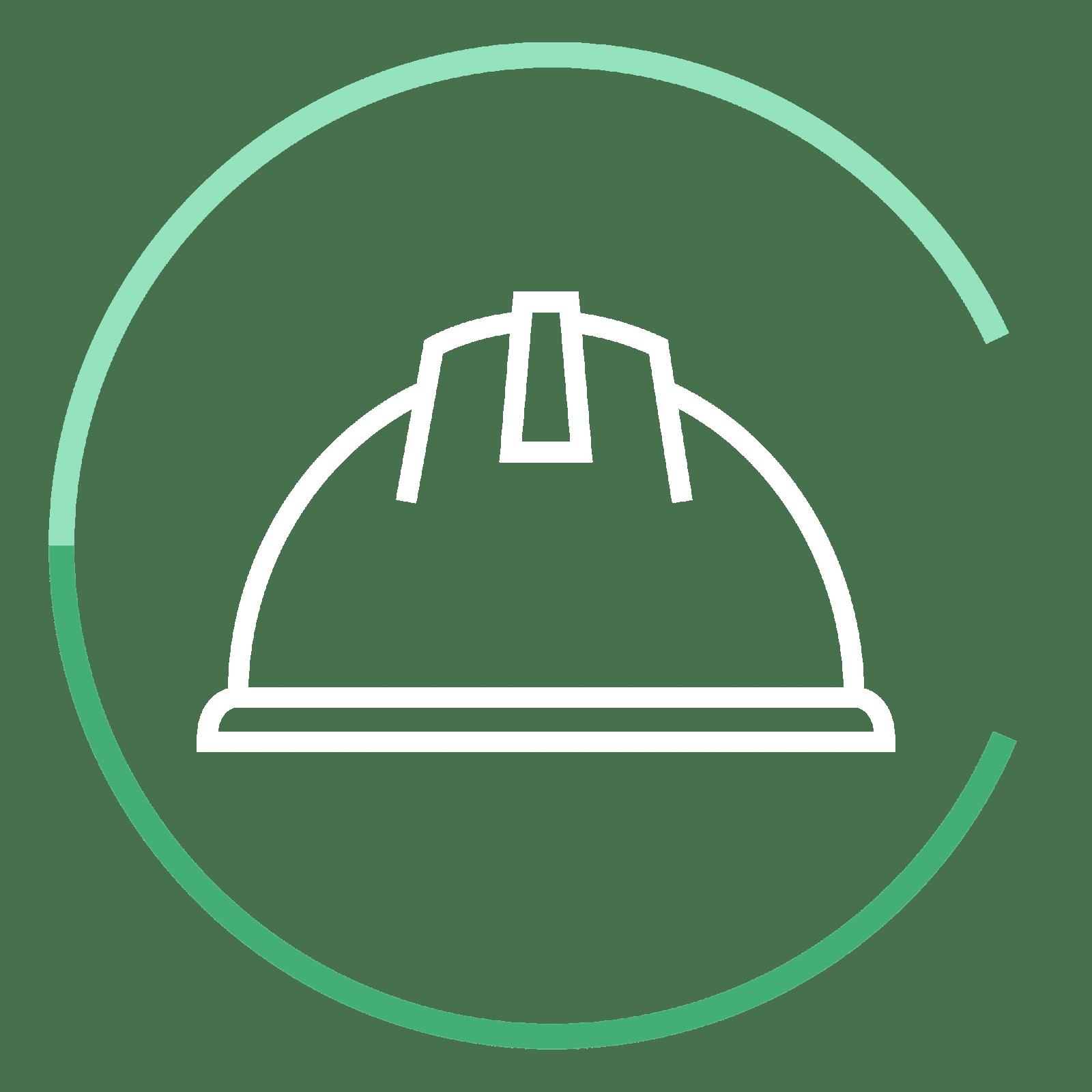 CC icon helmet - Chervenell Construction